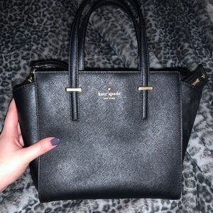 Kate spade black small Hayden bag